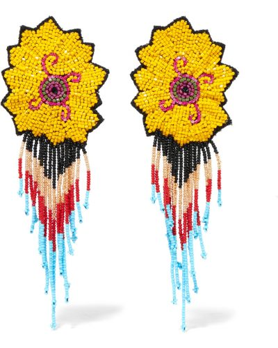 Etro, Beaded Clip Earrings £140