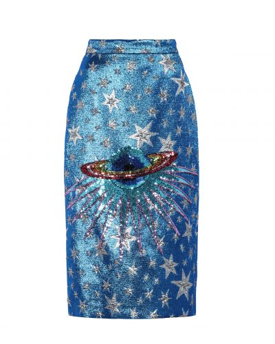 Gucci, Metallic Embellished Skirt £1,540